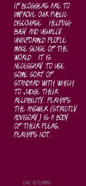 Public Discourse quote #1