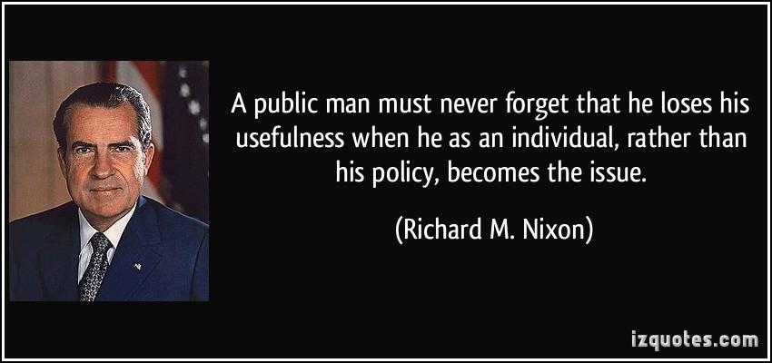Public Man quote