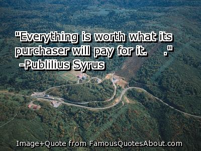 Purchaser quote #1