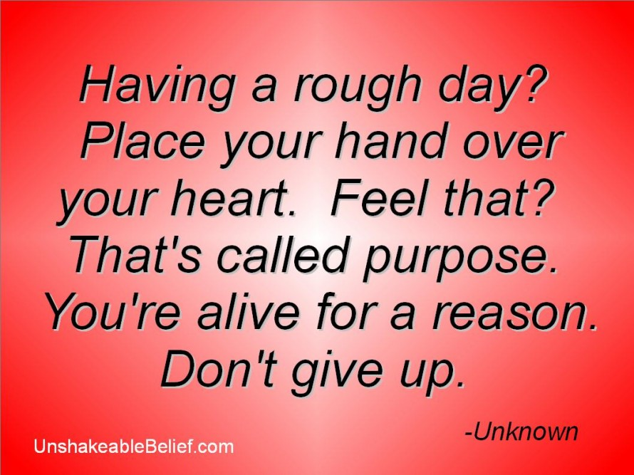 Purpose quote #1