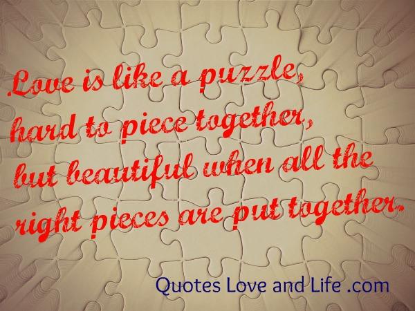 Puzzle quote #1