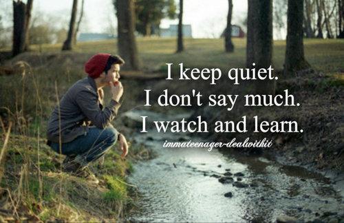 Quiet quote #1