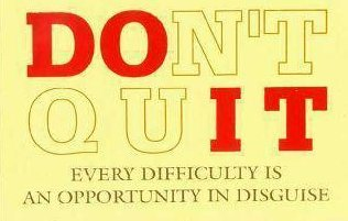 Quitting quote #1