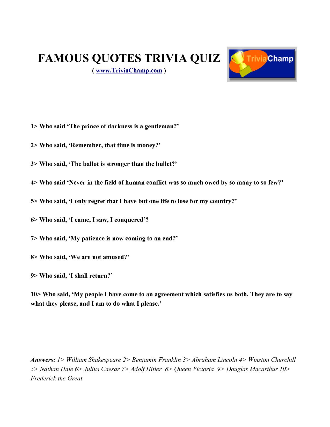 Quiz quote #1
