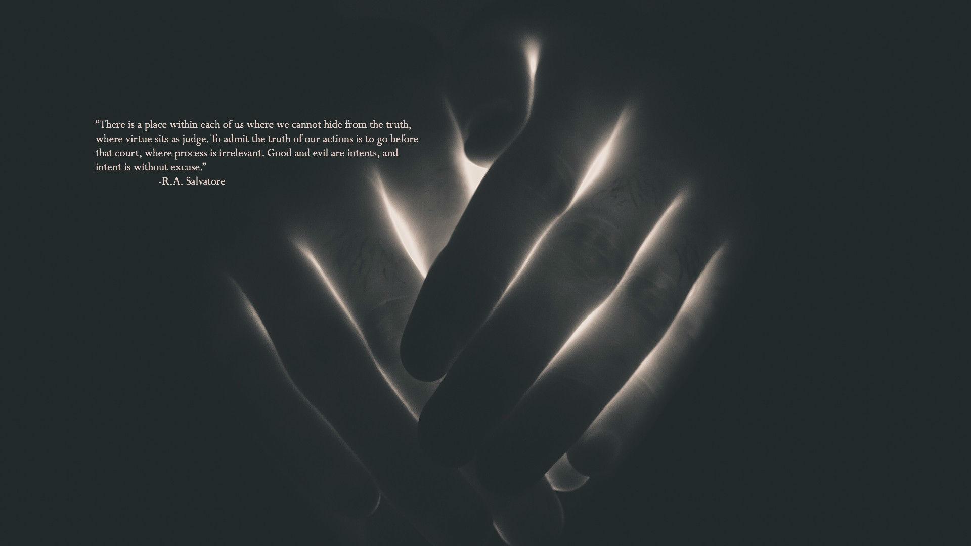 R. A. Salvatore's quote #7