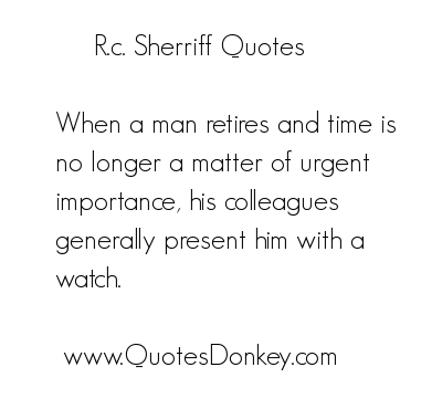 R. C. Sherriff's quote #1