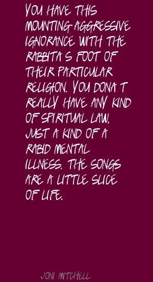 Rabid quote #1