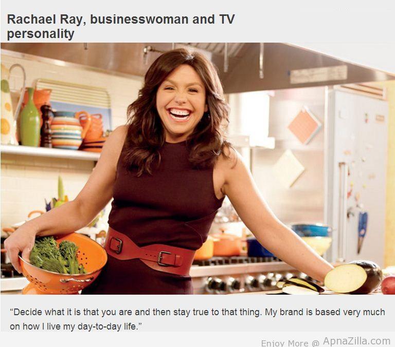 Rachael Ray's quote