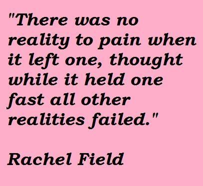 Rachel Field's quote #1