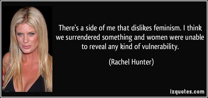 Rachel Hunter's quote #7