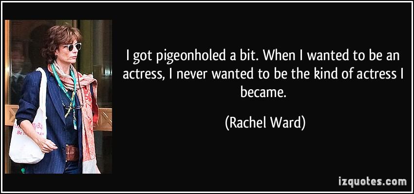 Rachel Ward's quote #1