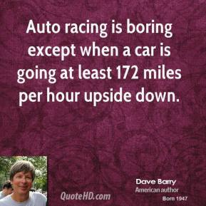 Racing Cars quote #2