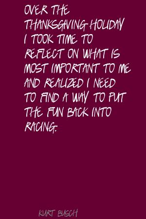 Racing quote #1