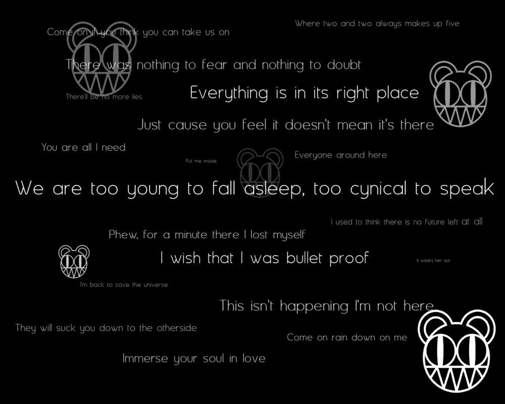Radiohead quote #1