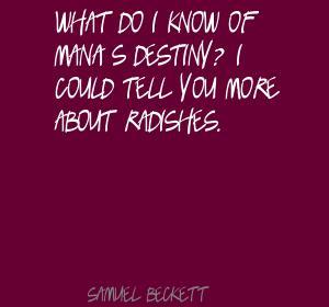 Radishes quote #1