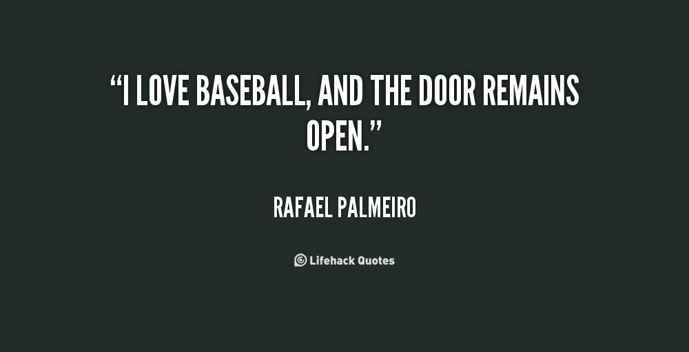 Rafael Palmeiro's quote