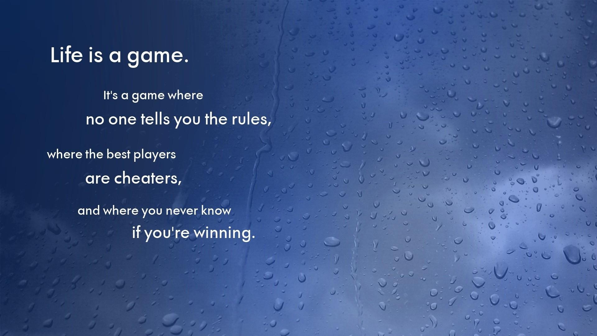 Rain quote #4