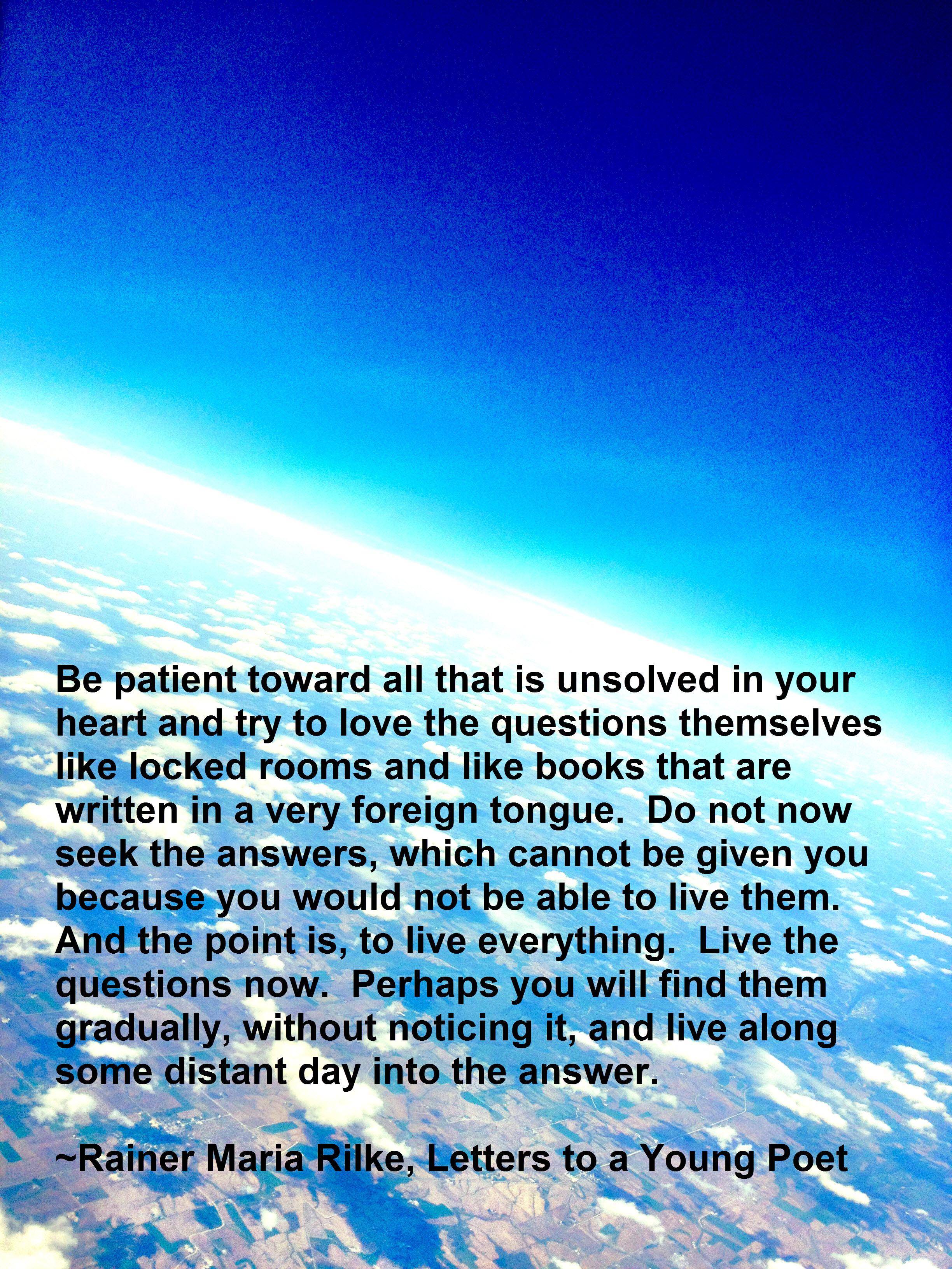 Rainer Maria Rilke's quote #6