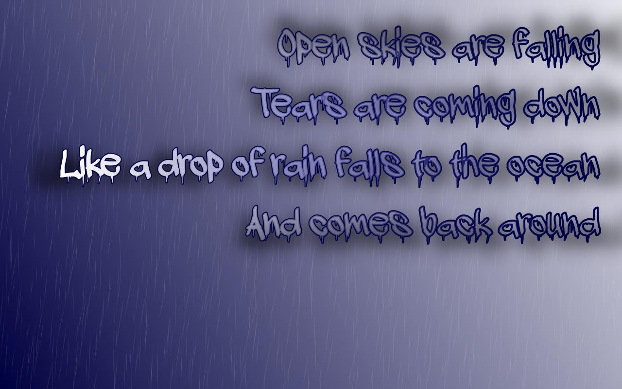 Rainy quote #6