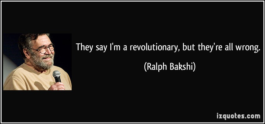 Ralph Bakshi's quote #5
