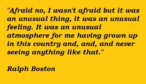 Ralph Boston's quote #3