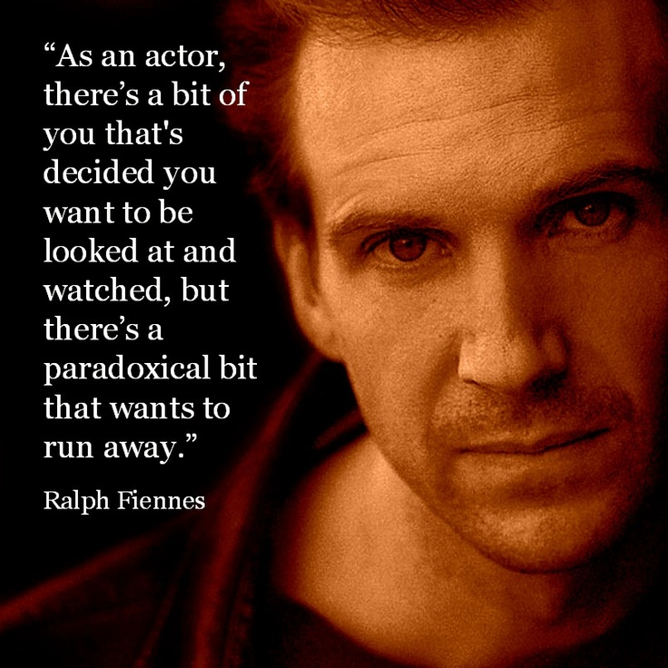 Ralph Fiennes's quote #8