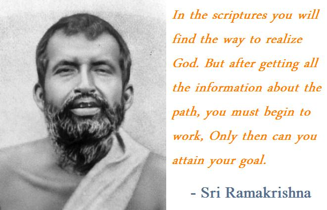Ramakrishna's quote #6