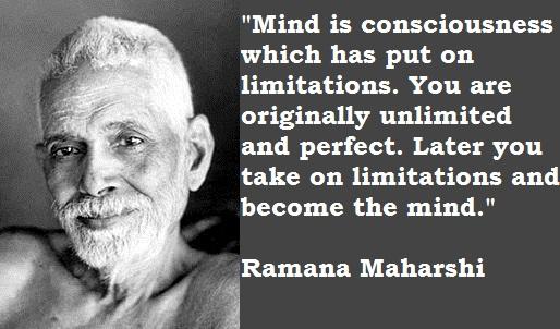 Ramana Maharshi's quote #5