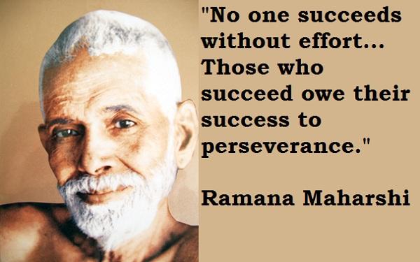 Ramana Maharshi's quote #3