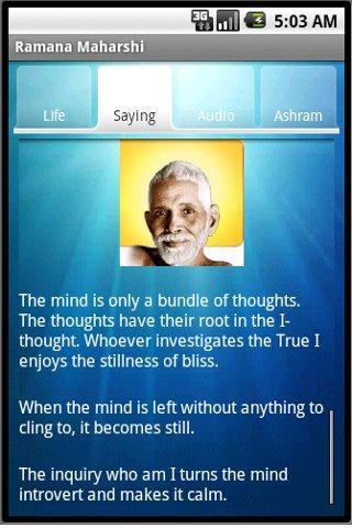Ramana Maharshi's quote #4