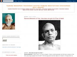 Ramana Maharshi's quote #2