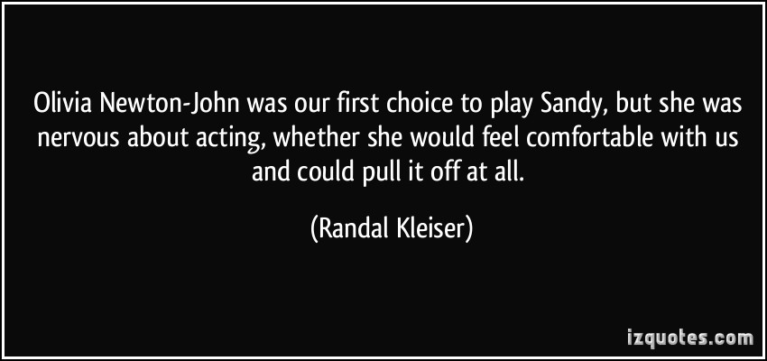 Randal Kleiser's quote #3