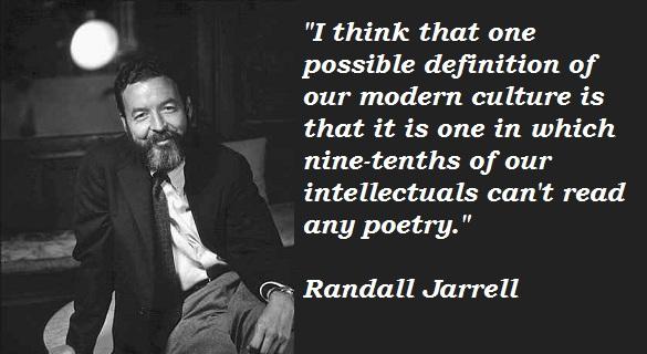 Randall Jarrell's quote #5