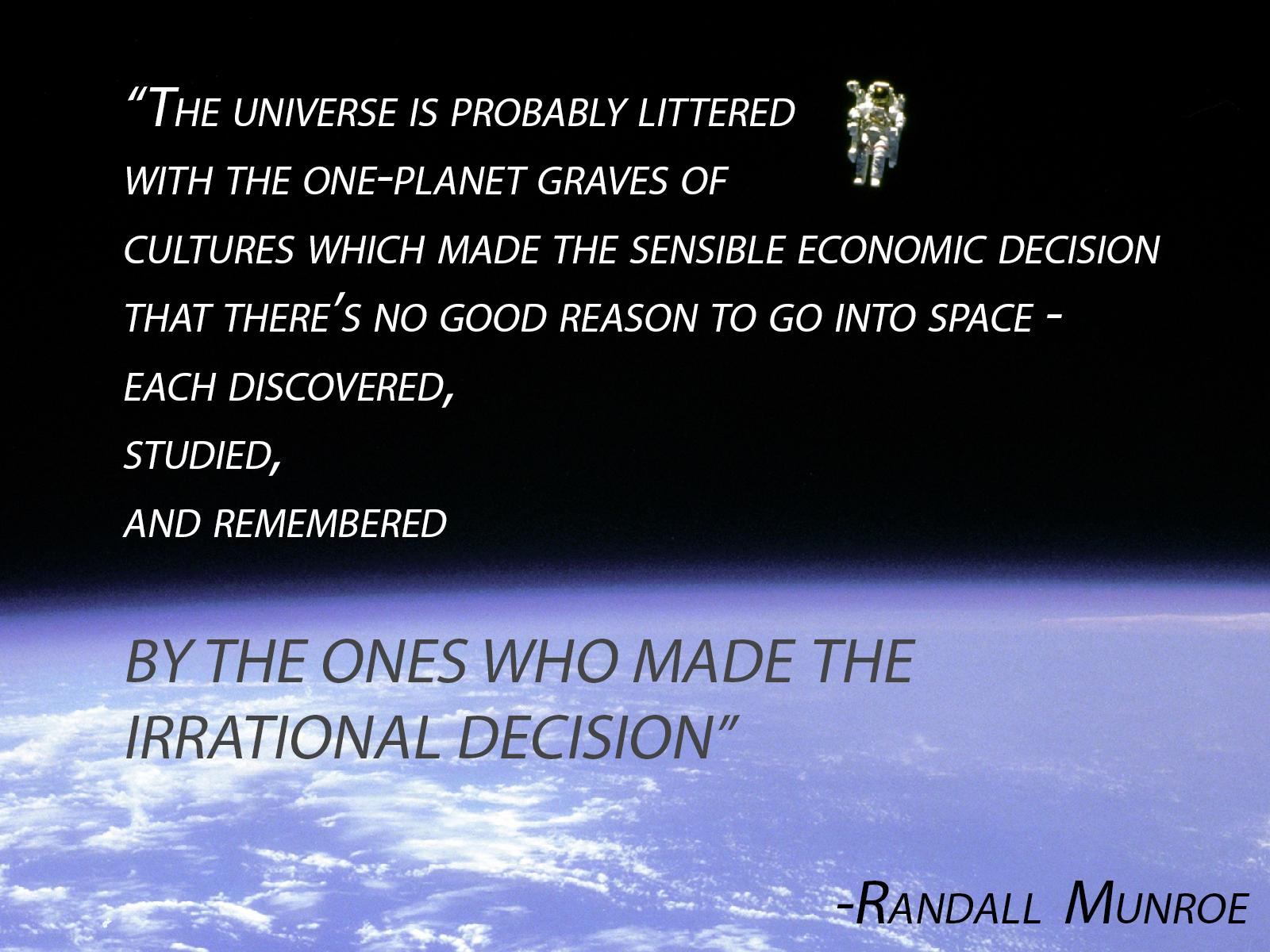 Randall Munroe's quote
