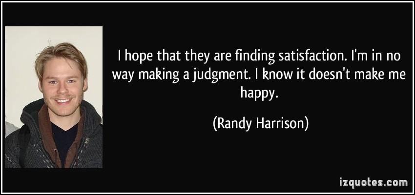 Randy Harrison's quote #4