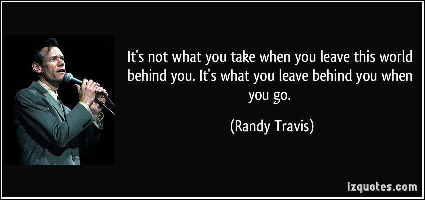 Randy Travis's quote #1