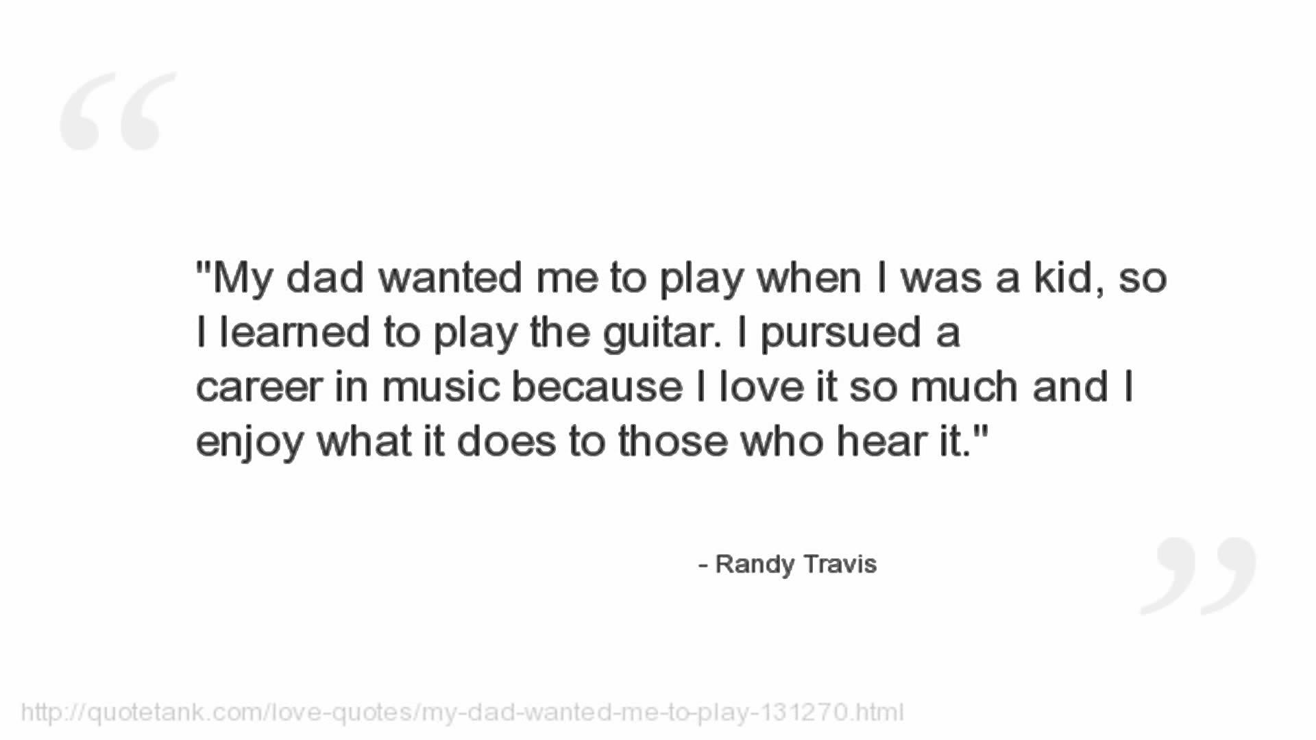Randy Travis's quote #5