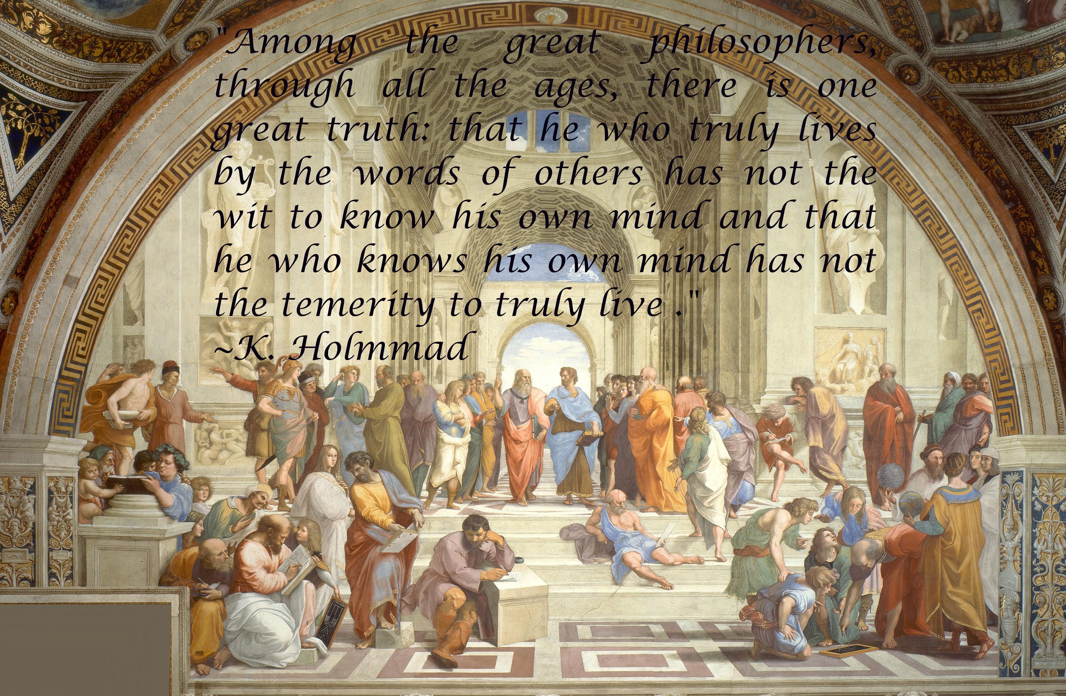 Raphael quote #1