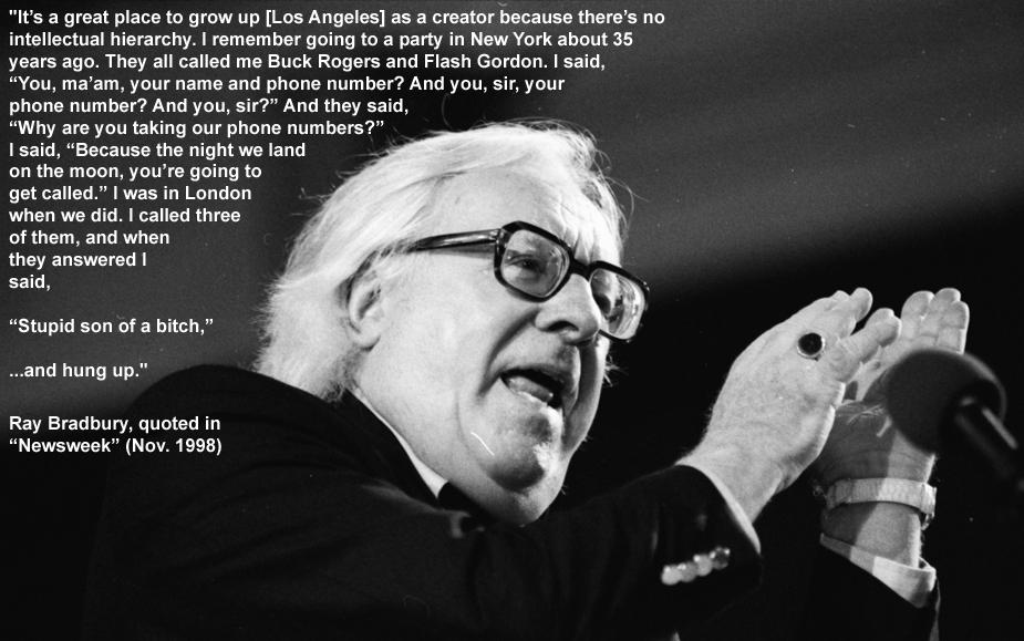 Ray Bradbury's quote #6