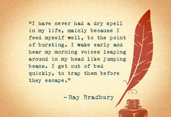 Ray Bradbury's quote #8