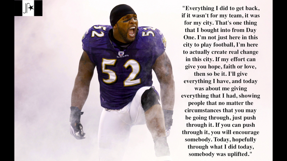 Ray Lewis's quote #2