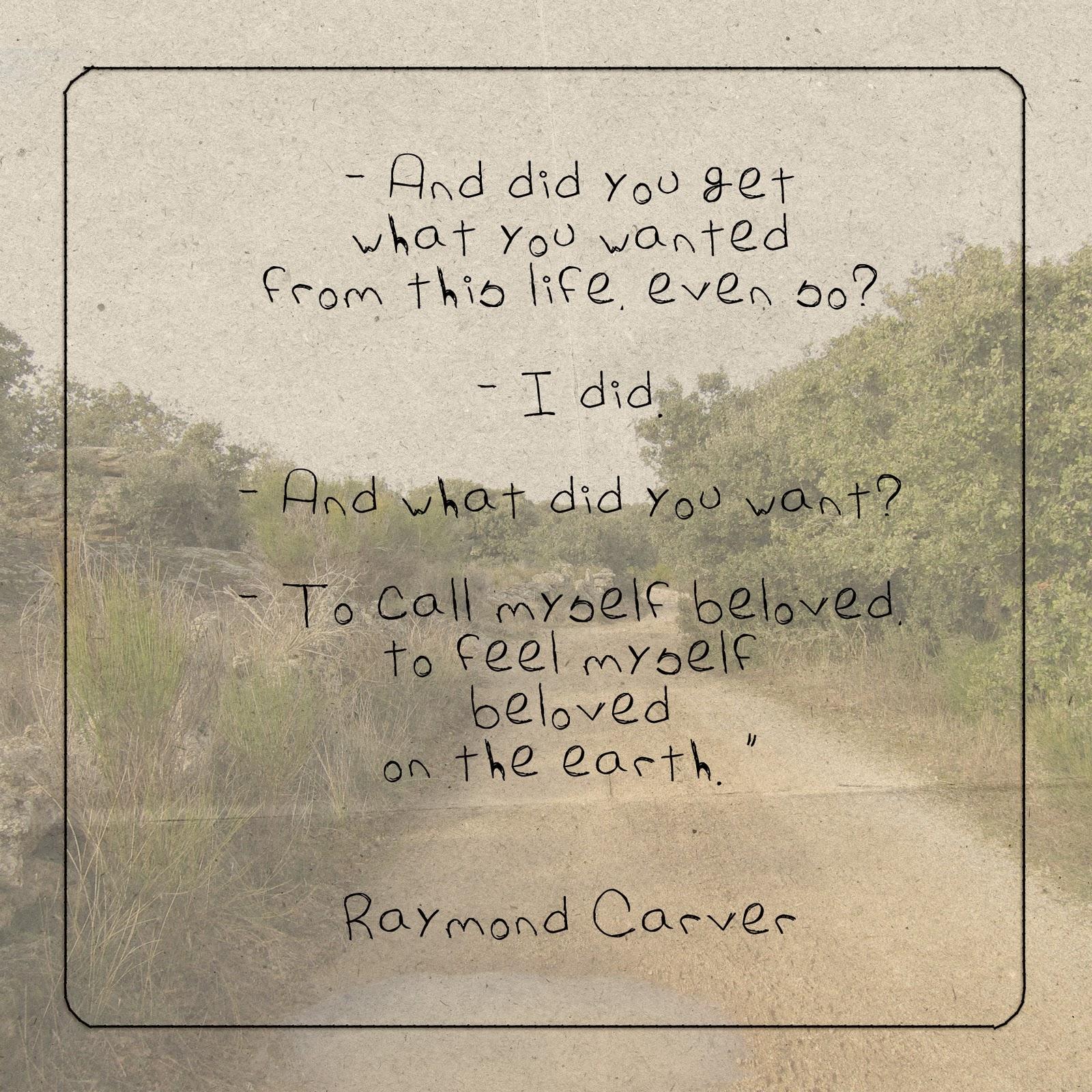 Raymond Carver's quote #1