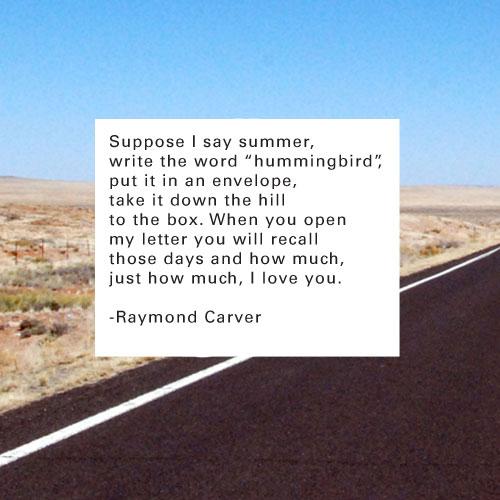 Raymond Carver's quote #4
