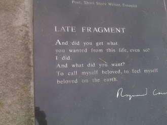 Raymond Carver's quote #5