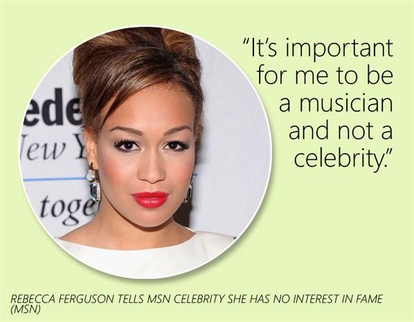 Rebecca Ferguson's quote #7