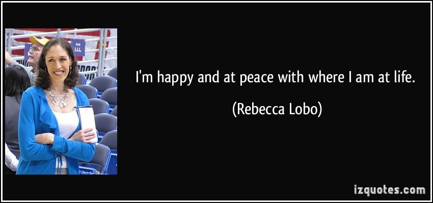 Rebecca Lobo's quote #2