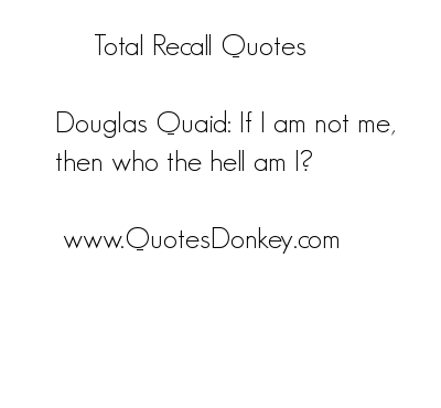 Recall quote #3
