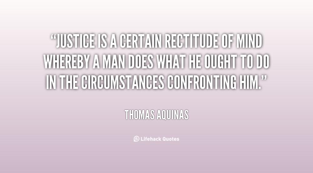 Rectitude quote #1