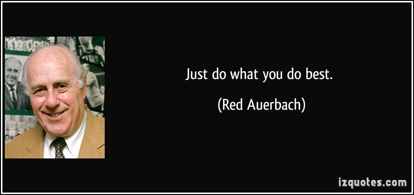 Red Auerbach's quote #4