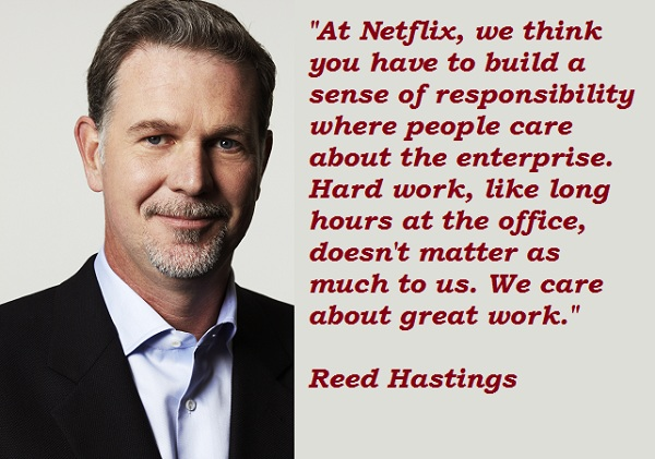 Reed Hastings's quote #4